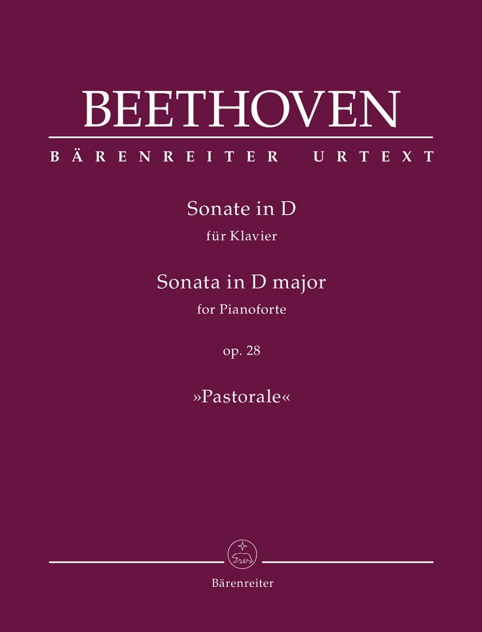 Beethoven L.v. - Sonata D Major Op.28 Pastorale - Piano