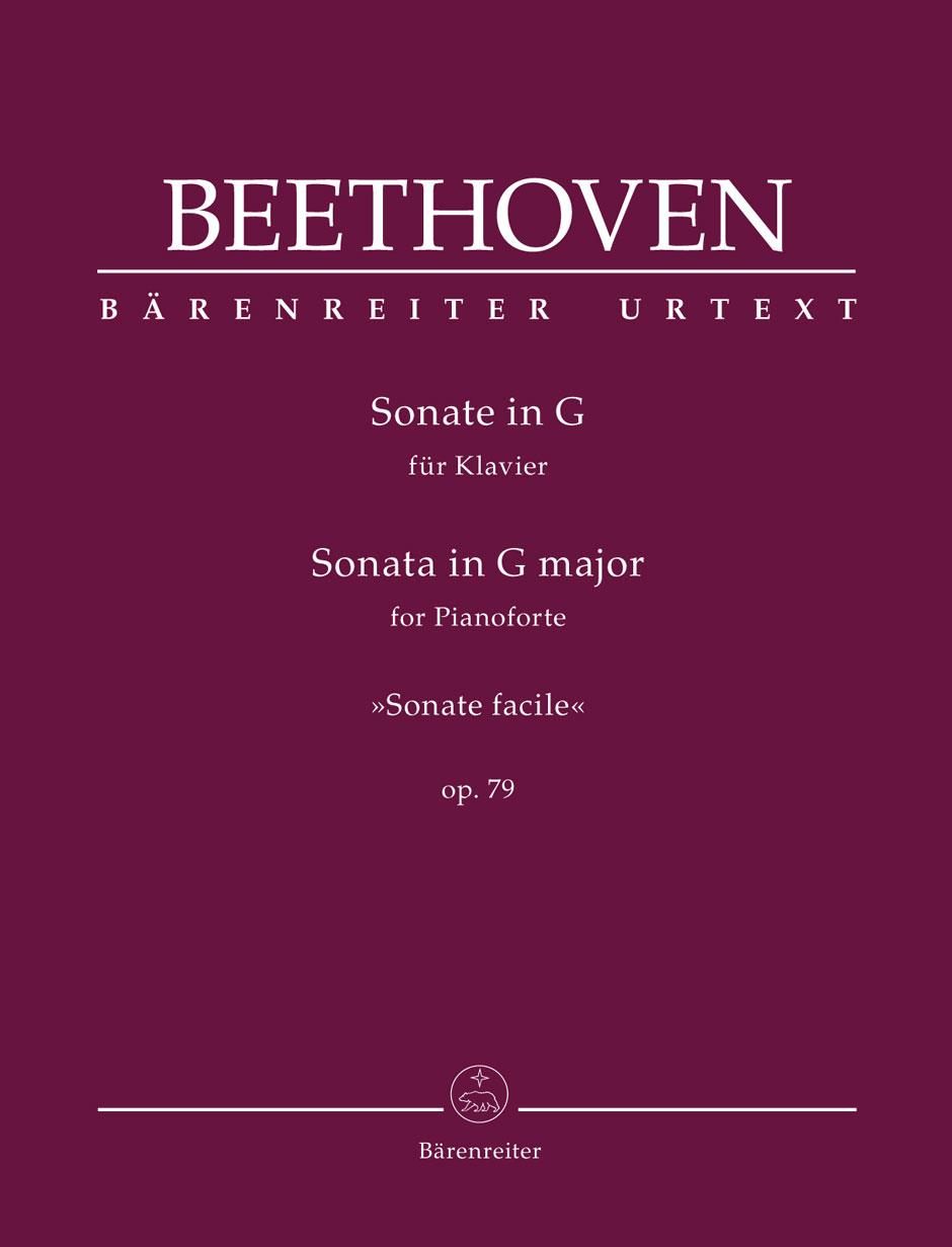 Beethoven - Sonate Facile Op.79 - Piano