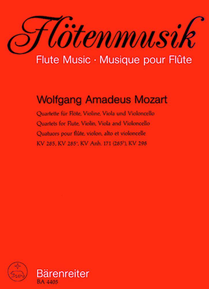 Mozart W.a. - Quatuors Kv 285, 285a, 285b, 298 - Flute, Violon, Alto, Violoncelle