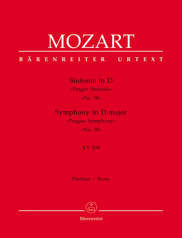 Mozart W.a. - Symphony N°38 D Major Kv 504 Prague Symphony - Score