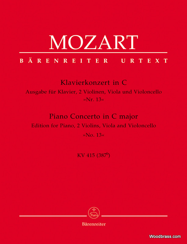 Mozart W.a. - Konzert N°13 C-dur Kv 415 - Piano
