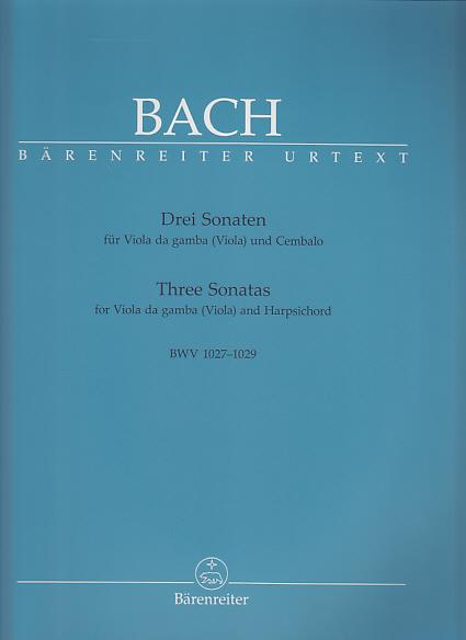 Bach J.s - Drei Sonaten Für Viola Da Gamba