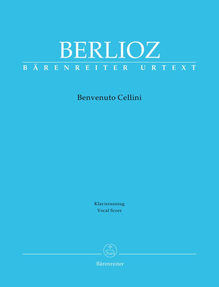 Berlioz Hector - Benvenuto Cellini Holoman 76 - Chant, Piano