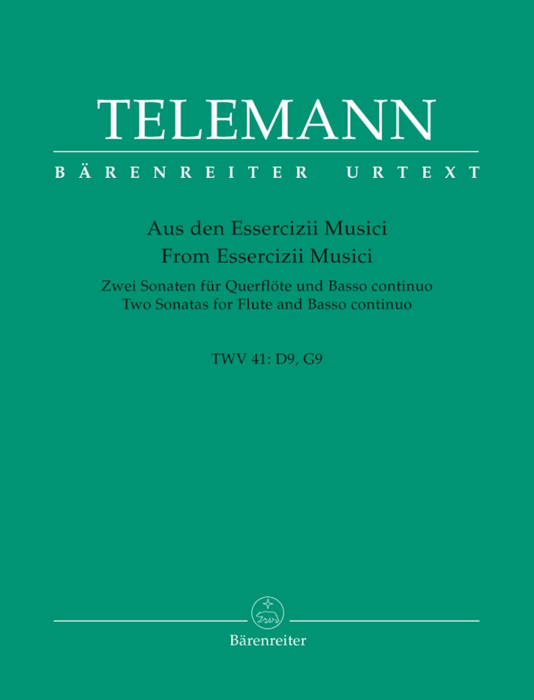 TELEMANN G. PH. - TWO SONATAS - VIOLON ET BC