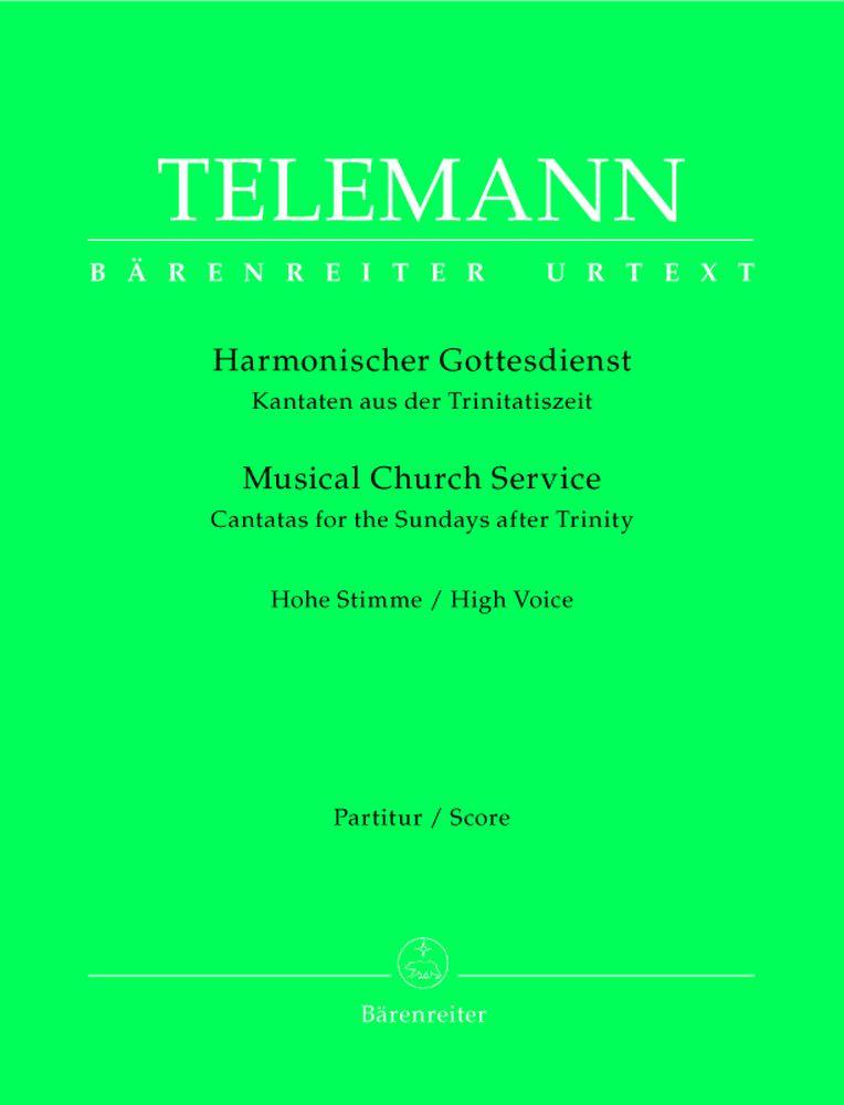 Telemann G.p. - Harmonisher Gottendienst,kantaten Aus Dem Trinitatiszeit