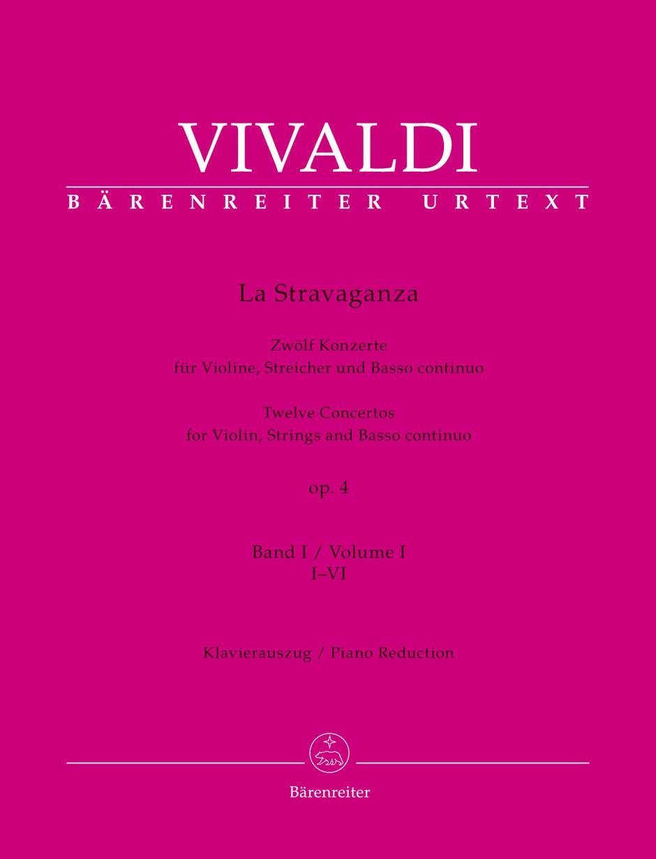 Vivaldi Antonio - La Stravaganza Op.4 Vol.1 - Violon and Piano