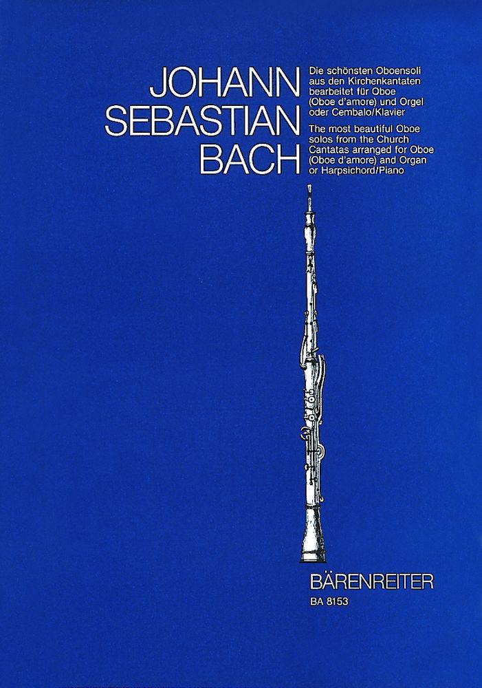 Bach J.s. - Die Schonsten Oboensoli Aus Den Kirchenkantaten - Hautbois, Orgue Ou Piano