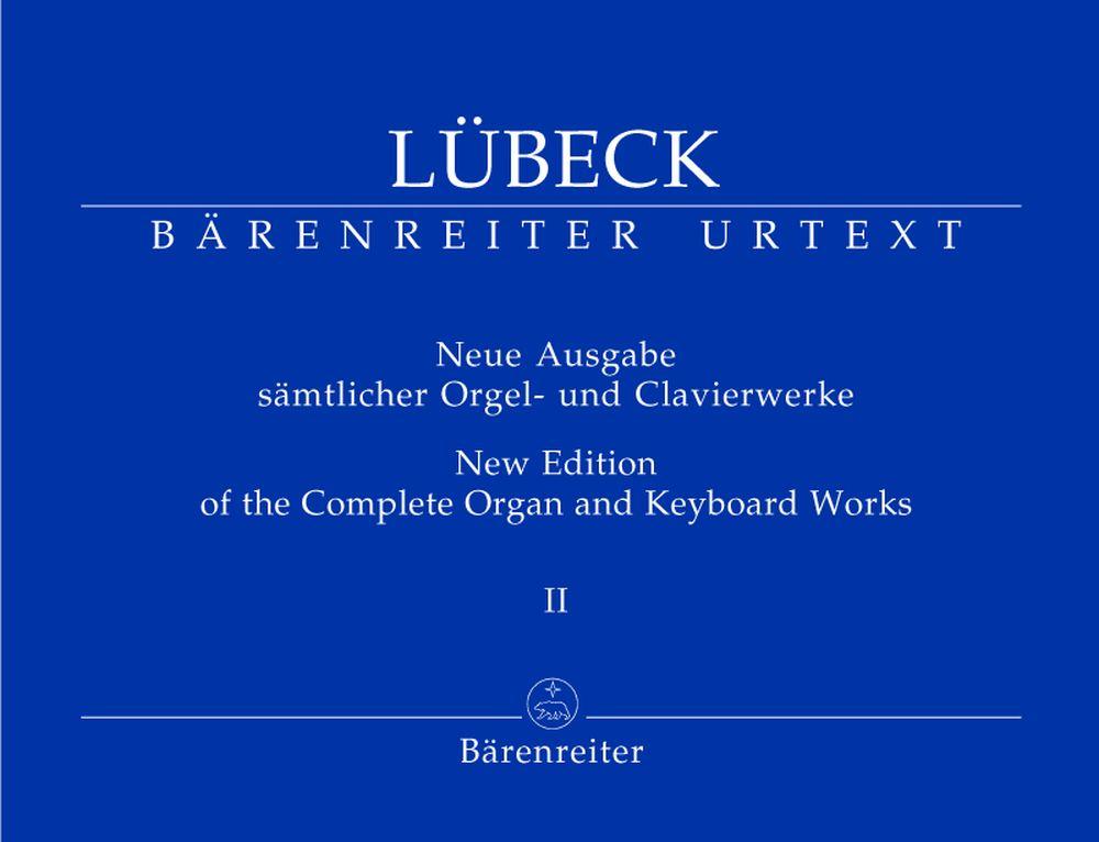 Lubeck Vincent - Neue Ausgabe Samlicher Orgel- Und Clavierwerke, Band 2 - Orgue / Clavecin / Piano