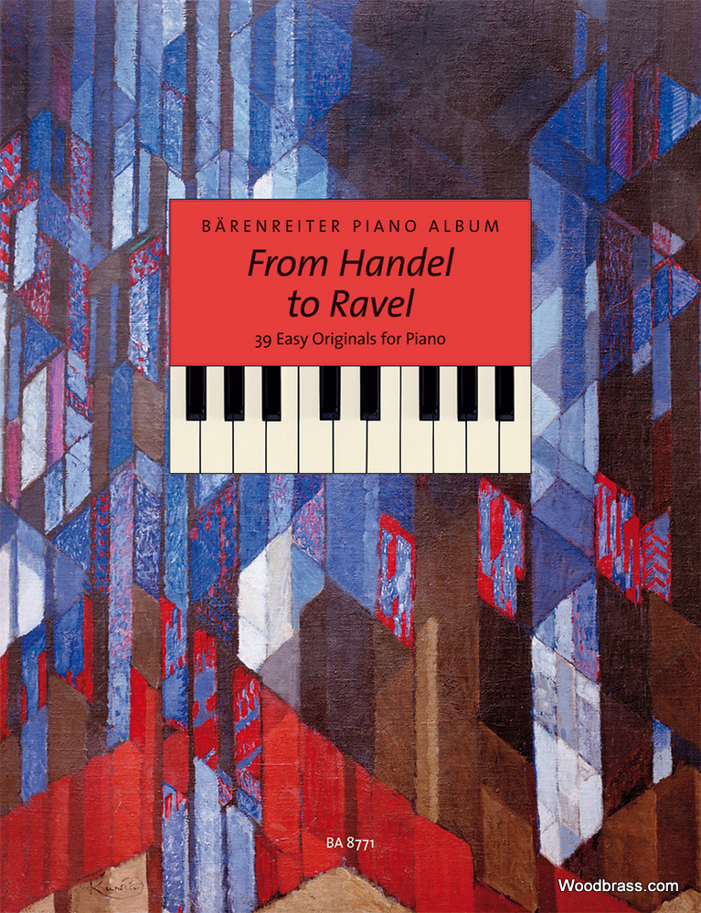 BARENREITER PIANO ALBUM - FROM HANDEL TO RAVEL