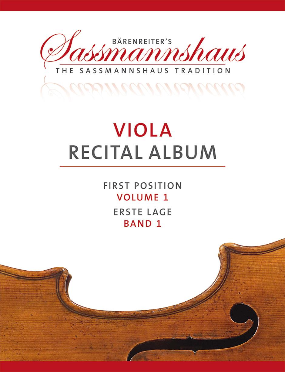 Viola Recital Album Vol.1 - Alto and Piano