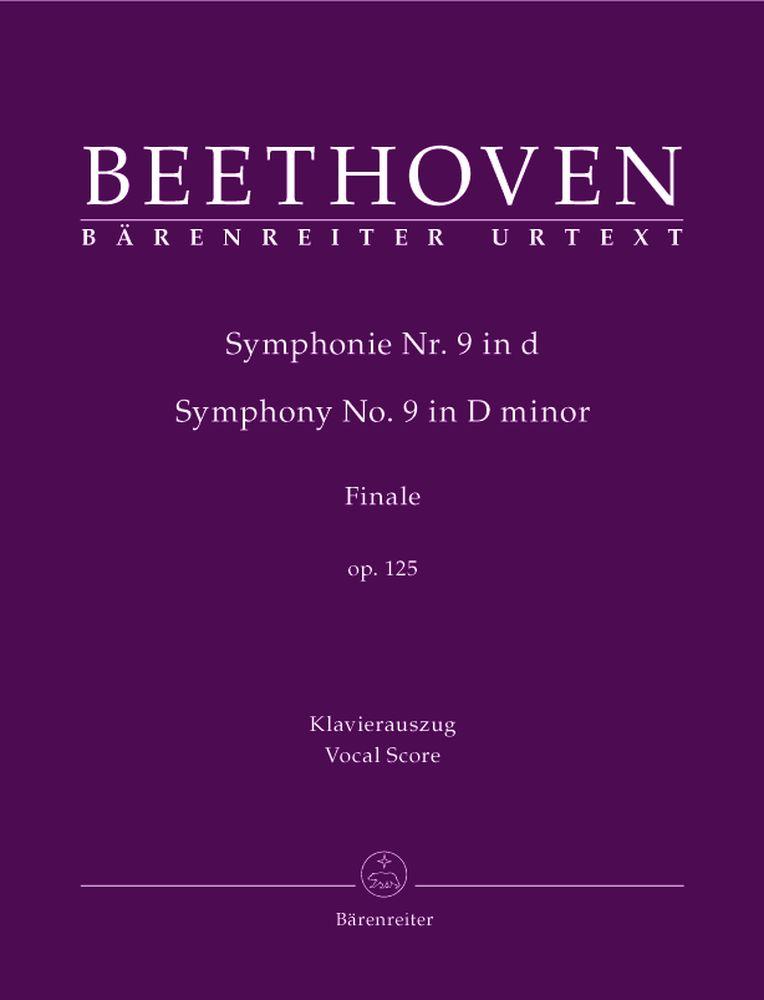 Beethoven L.v. - Schlusschor (finale) 'an Die Freude' Aus Symphonie Nr. 9 D-moll Op. 125