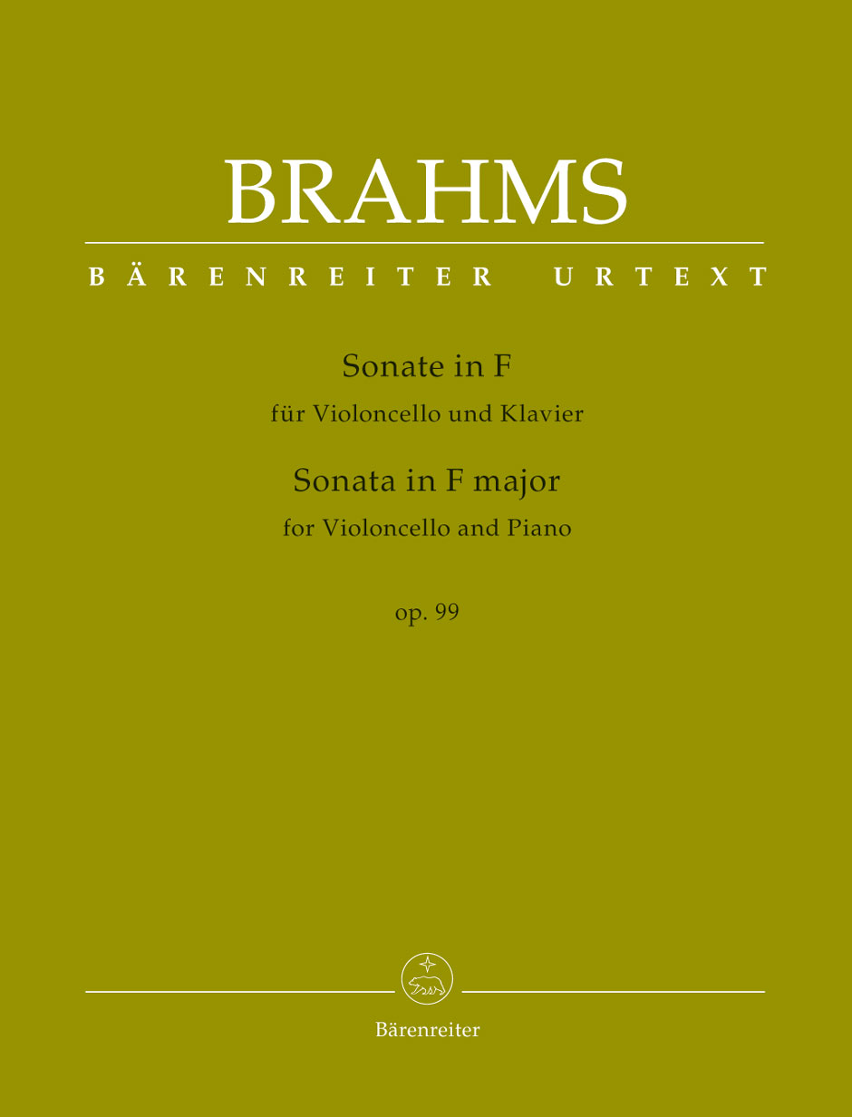 Brahms - Sonata In F Major Op.99 - Violoncelle and Piano