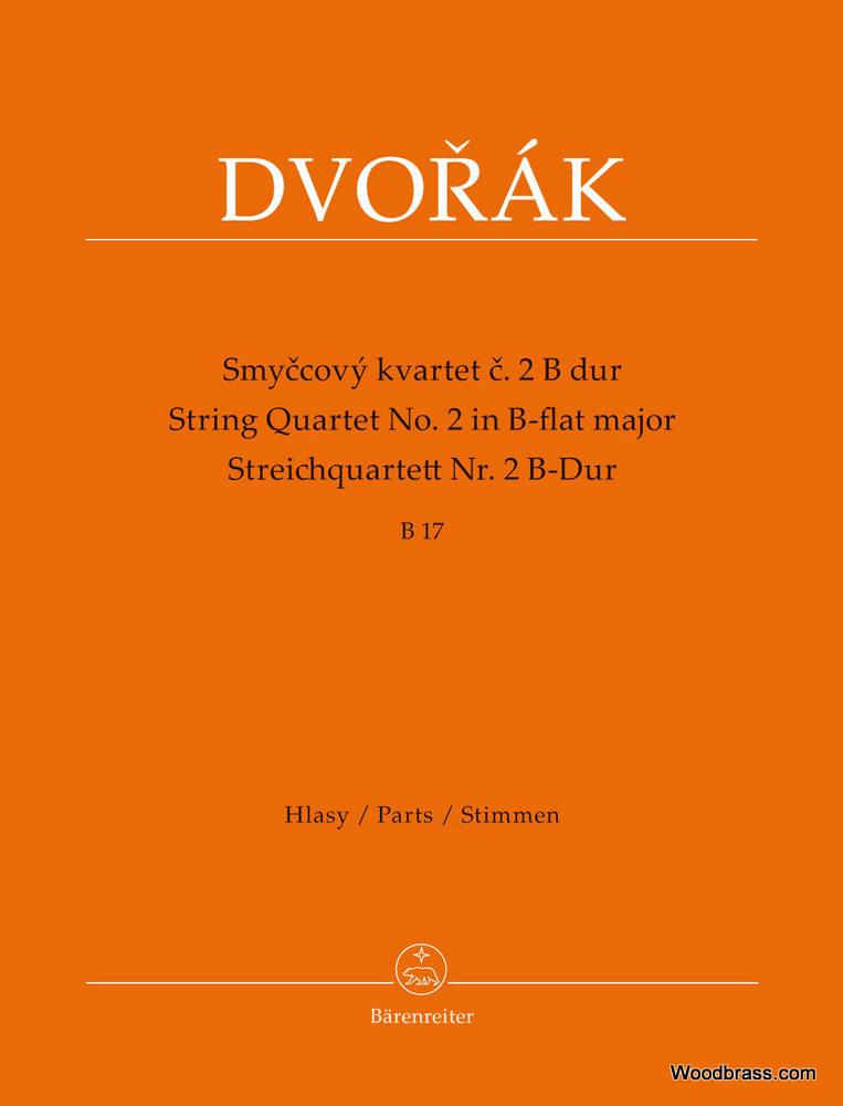 Dvorak A. - String Quartet N°2 In B-flat Major B 17 - Set De Parties