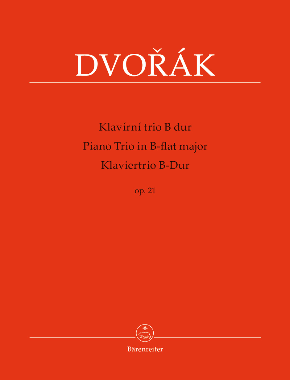 Dvorak A. - Piano Trio B-flat Major Op.21