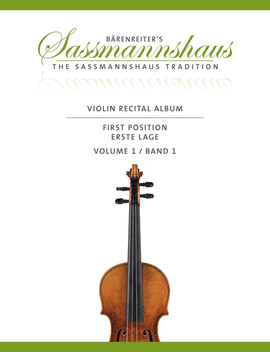 Sassmannshaus - Violin Recital Time Vol.1