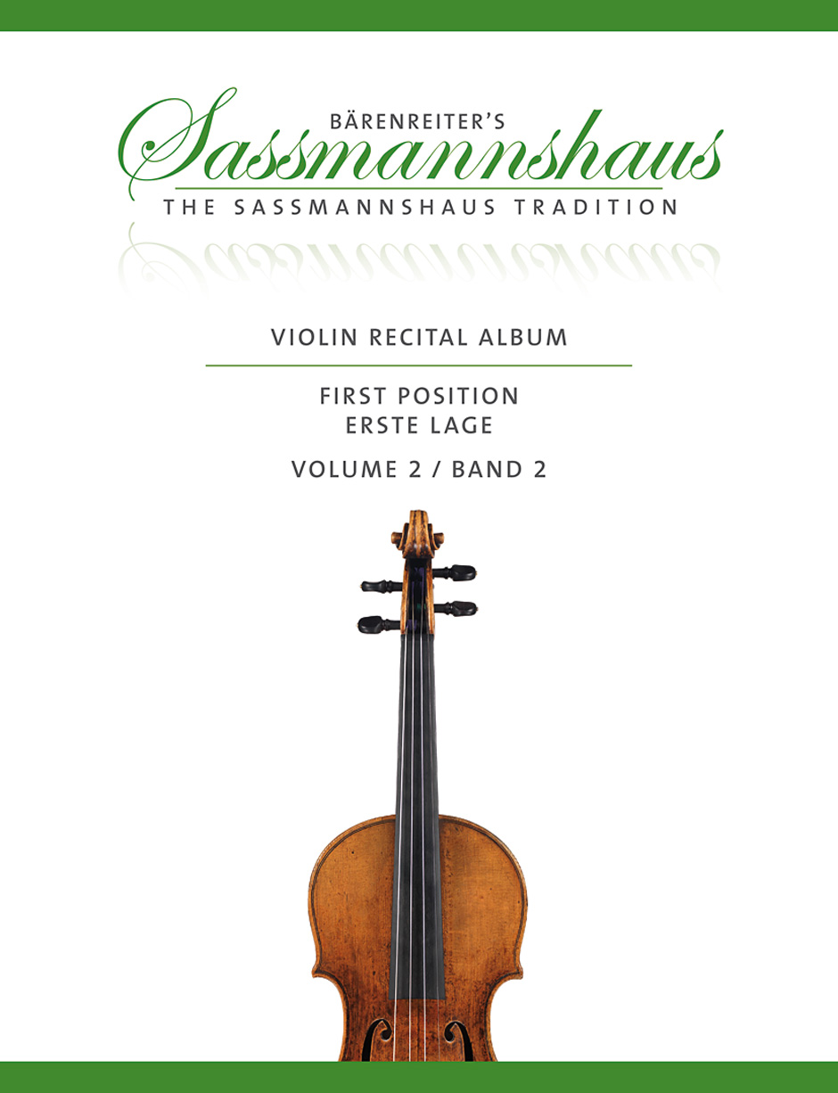 Sassmannshaus - Violin Recital Time Vol.2