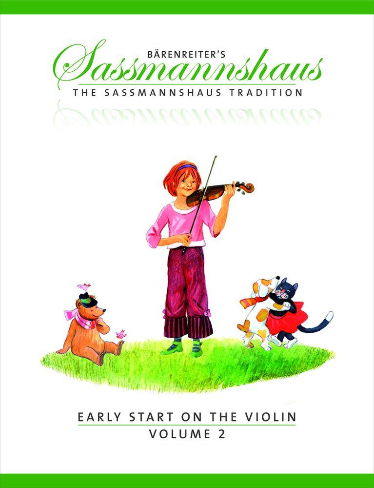 Sassmannshaus, E. & K. - The Sassmannshaus Tradition. Early Start On The Violin, Vol. 2