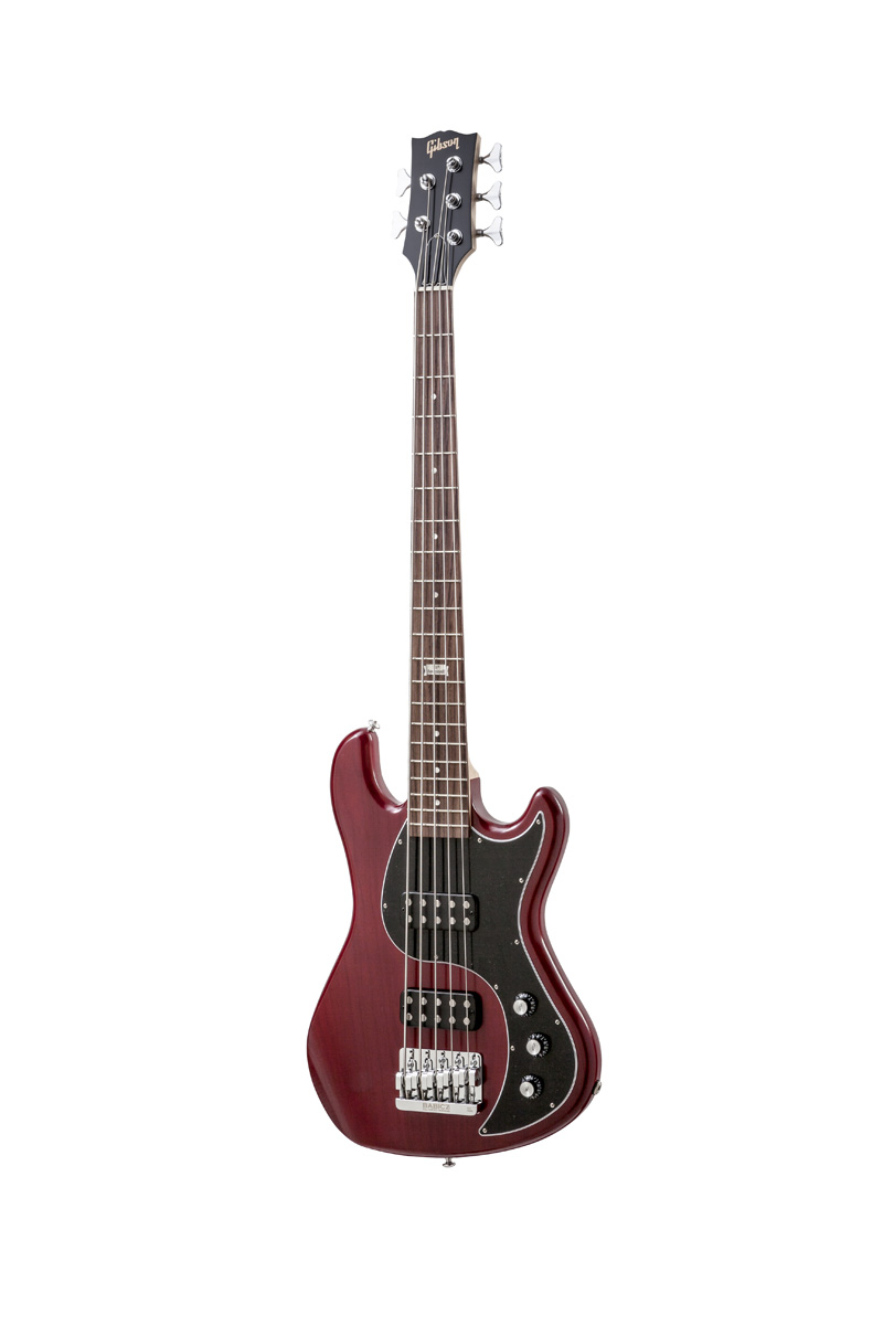 Gibson Eb 2014 5 String Brilliant Red Vintage Gloss Chrome + Etui