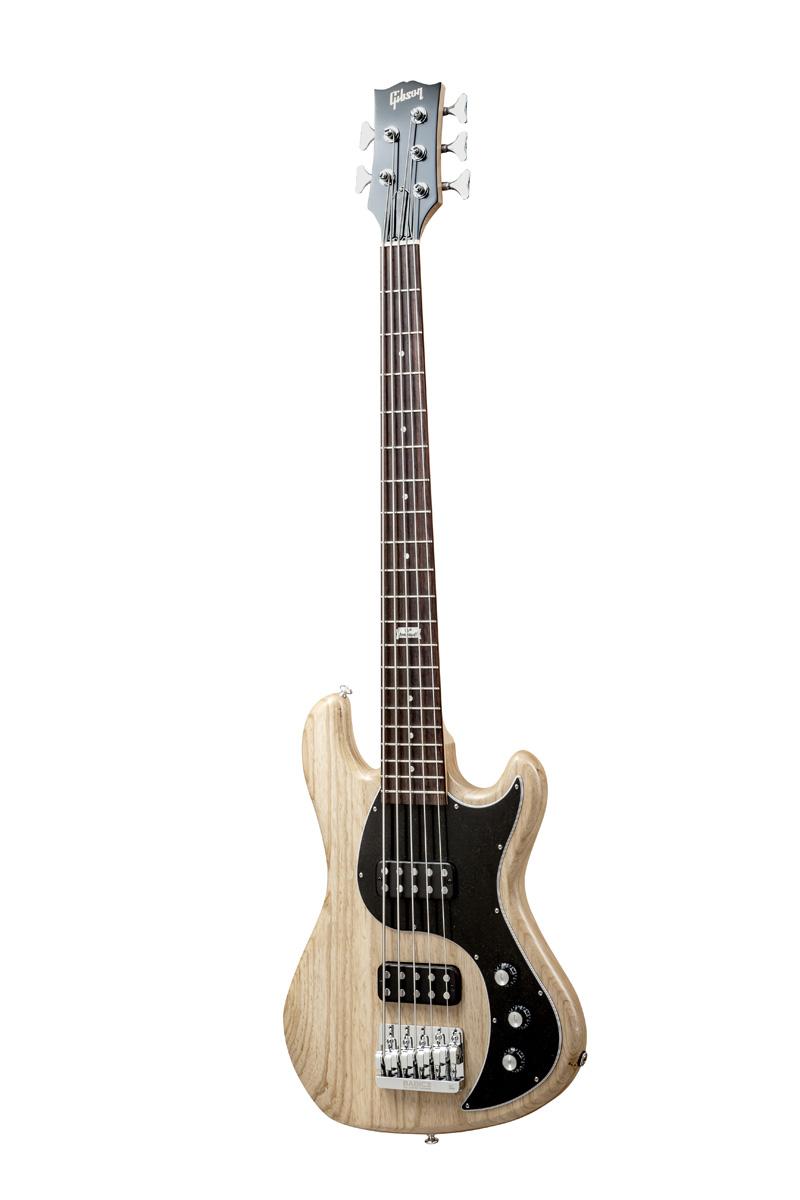 Gibson Eb 2014 5 String Natural Vintage Gloss Chrome + Etui