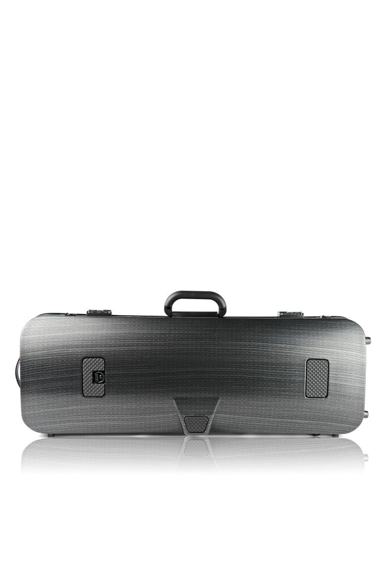 HIGHTECH VIOLA CASE COMPACT SIZE WITHOUT POCKET - BLACK LAZURE
