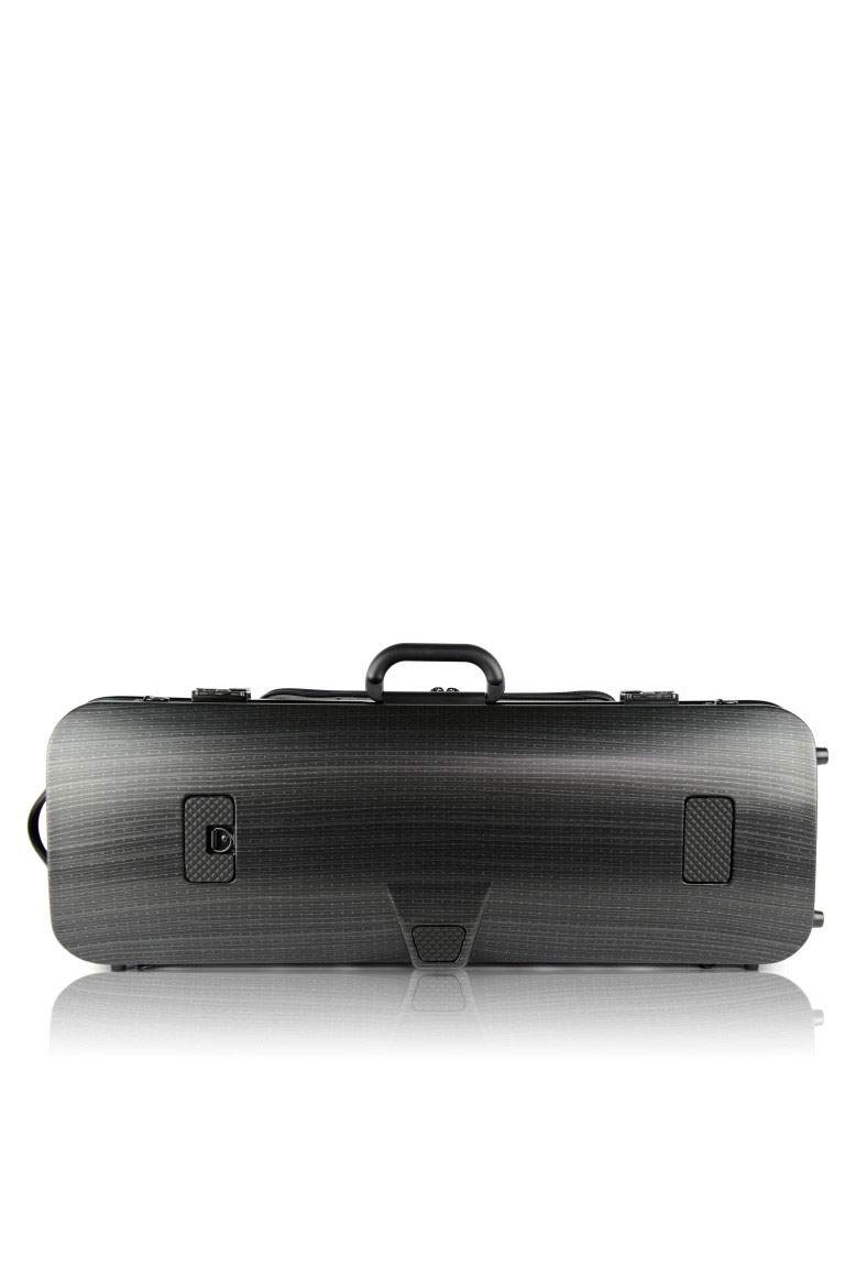 HIGHTECH VIOLA CASE COMPACT SIZE WITH POCKET - BLACK LAZURE