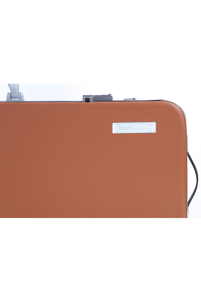 L'ETOILE HIGHTECH OBLONG VIOLA CASE - COGNAC