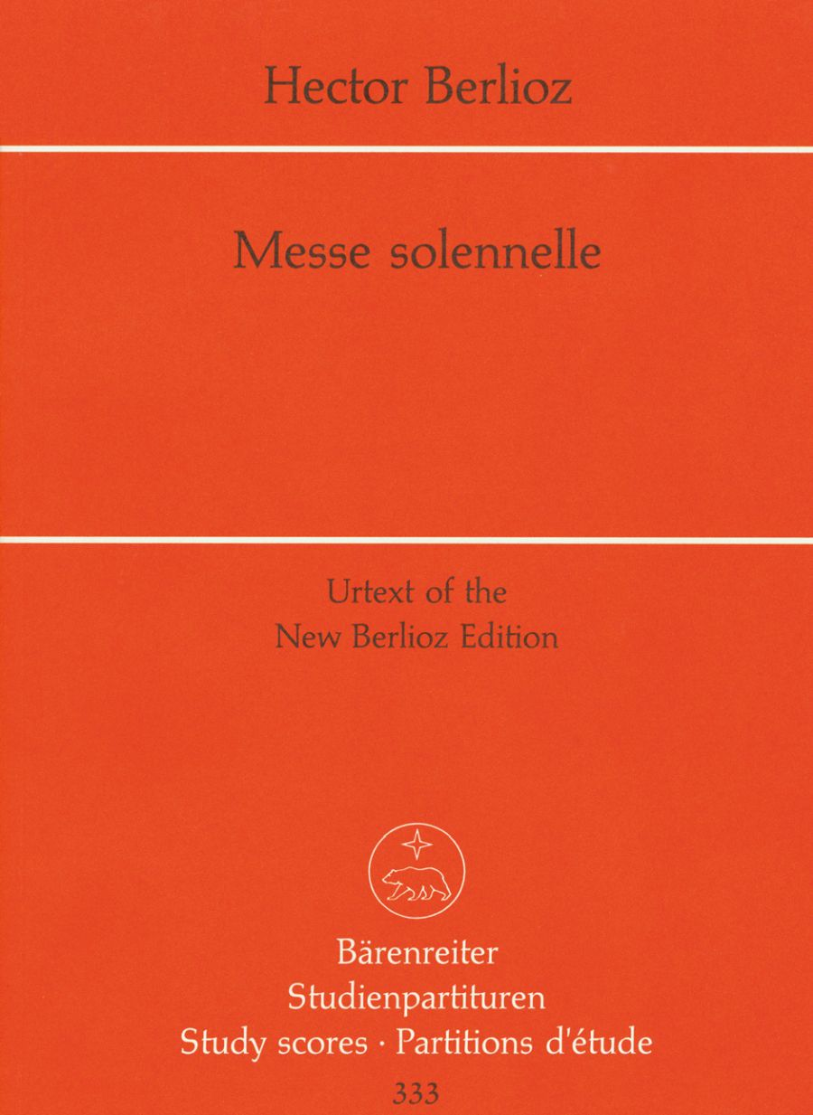 Berlioz Hector - Messe Solennelle - Conducteur