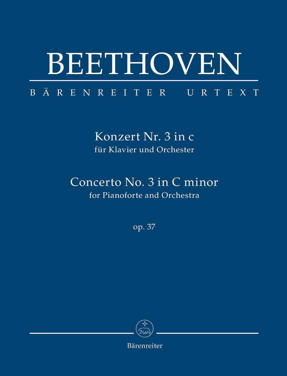 Beethoven - Concerto No.3 C Minor Op. 37 For Piano and Orchestra - Score