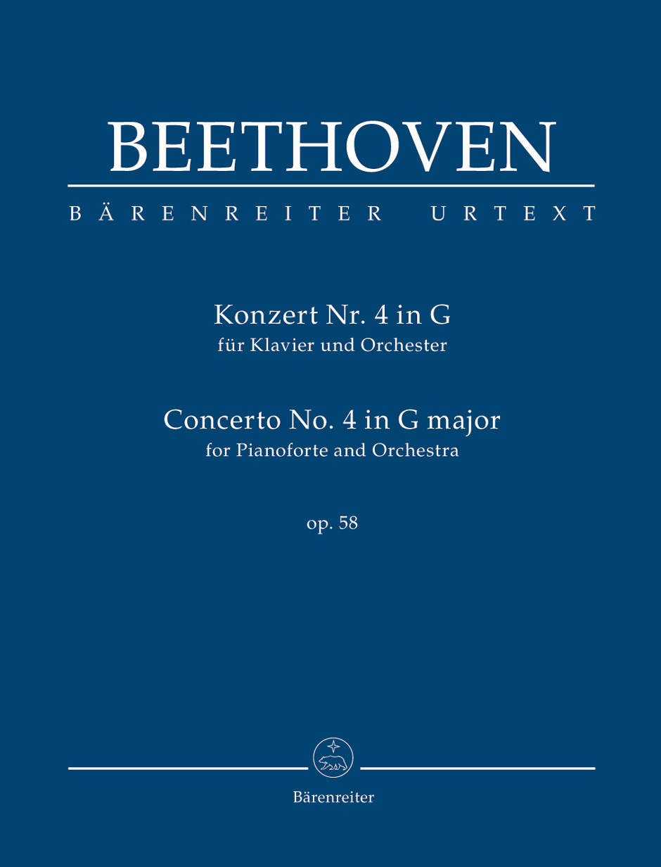 Beethoven - Concerto No.4 G Major Op. 58 For Piano and Orchestra - Score
