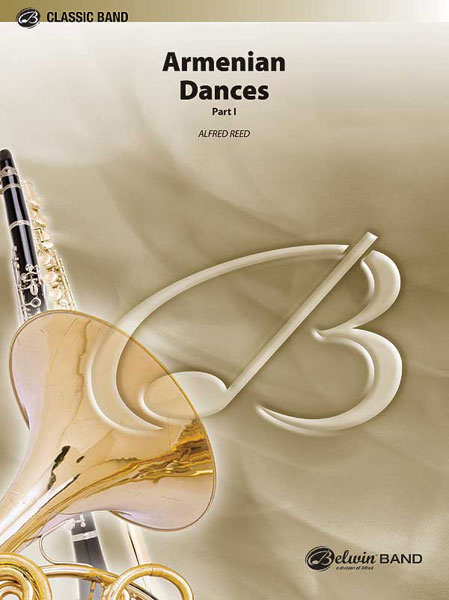 REED ALFRED - ARMENIAN DANCES PART 1 - SYMPHONIC WIND BAND