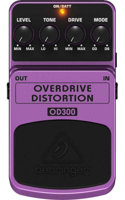 Behringer Od300 Pedale Effet Overdrive/distortion
