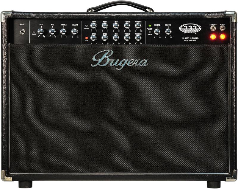 Bugera 333-212 Infinium Ampli Combo Guitare 3 Canaux 120 W