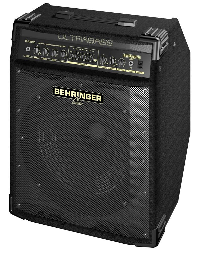 Behringer Bxl3000 Ultrabass 1x15 / 300w