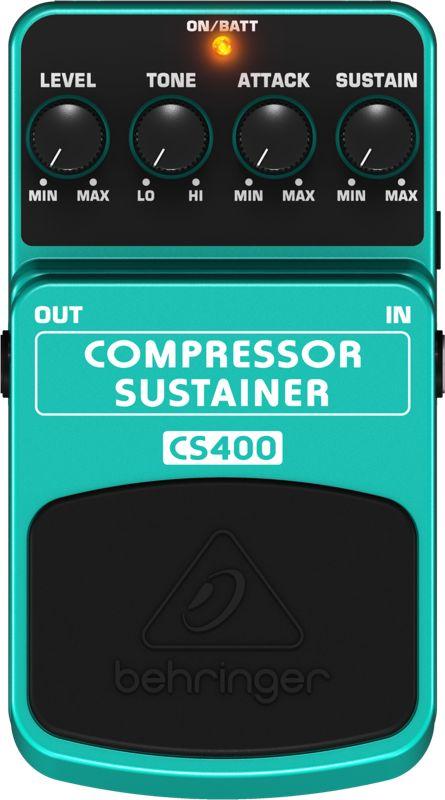Behringer Compressor/sustainer Cs400
