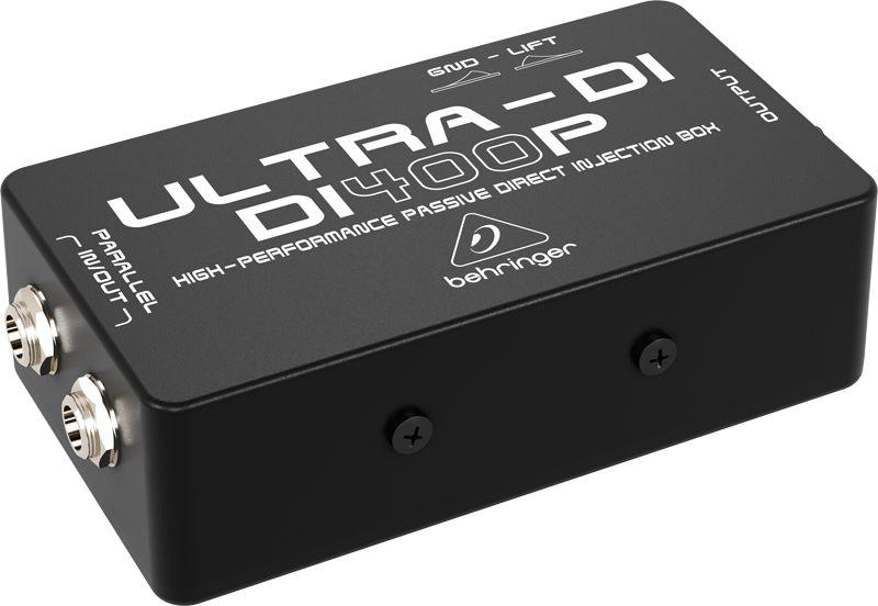 Behringer Ultra Di Di400p Boite De Direct Passive Hautes Performances