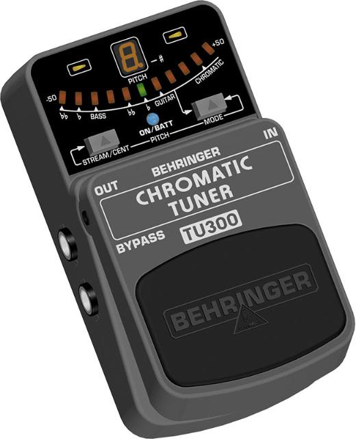 Behringer Tu300 Pedale Accordeur Chromatique