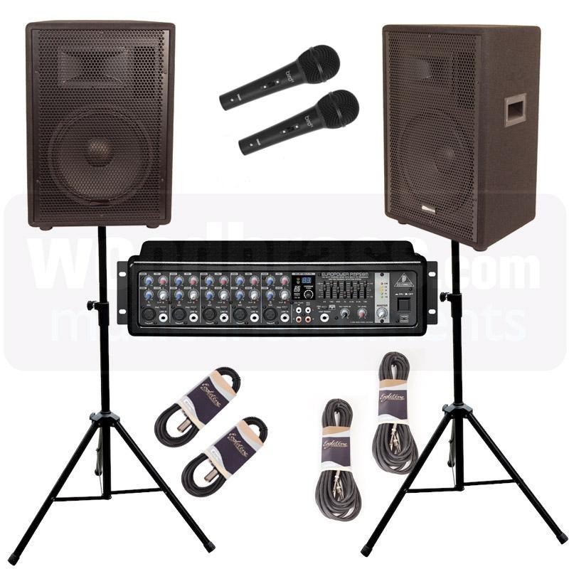 peavey audio performer pack 100w rms accessories studio live buy online free. Black Bedroom Furniture Sets. Home Design Ideas