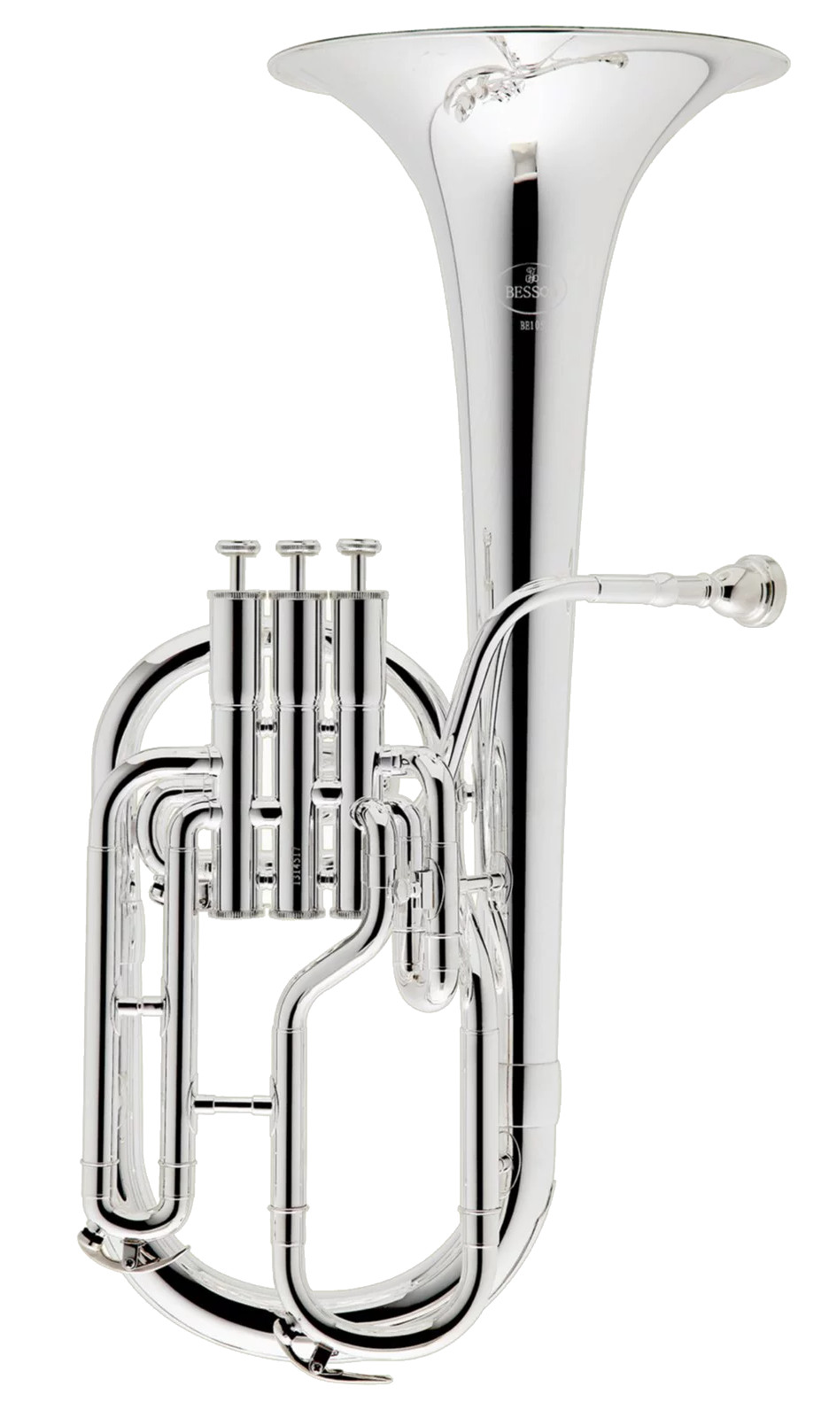BE152-2-0 - PRODIGE TENOR HORN 152 SILVER PLATED