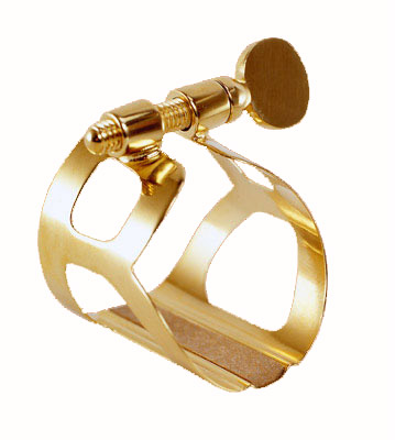 L3 - Bb CLARINET LIGATURE TRADITION GOLD PLATED