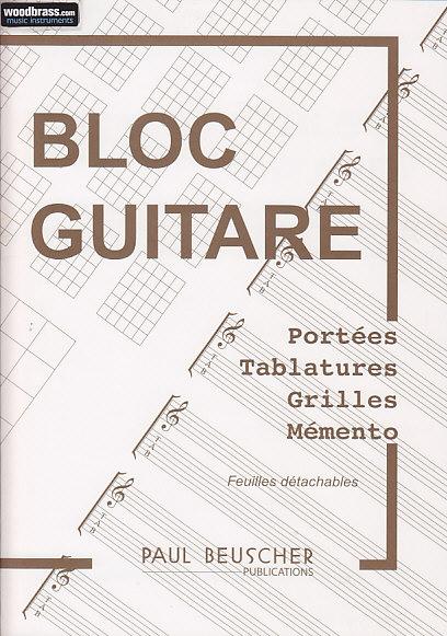 Bloc Guitare - Tablatures, Grilles Et Chord Boxes