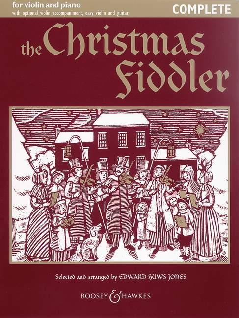 The Christmas Fiddler - Violin  And Piano, Guitar Ad Lib.