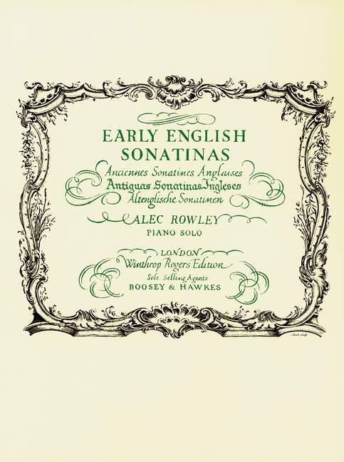 Early English Sonatinas - Piano