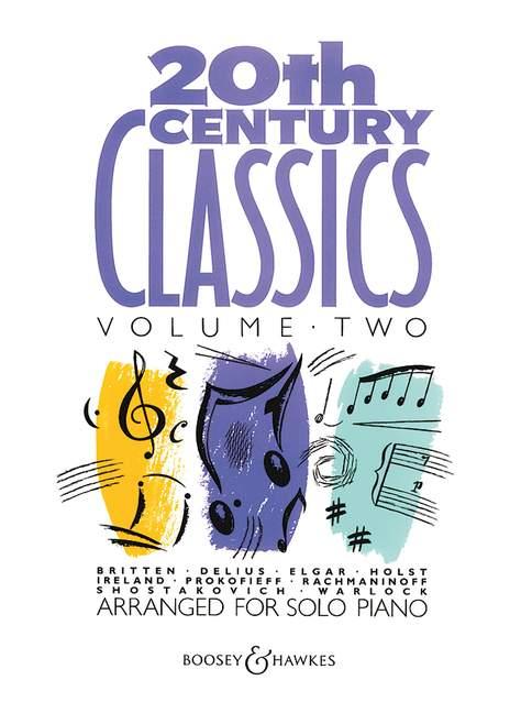 20th Century Piano Classics Vol.2 Piano