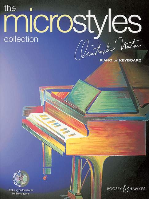 Norton Christopher - The Microstyles Collection + Cd - Piano