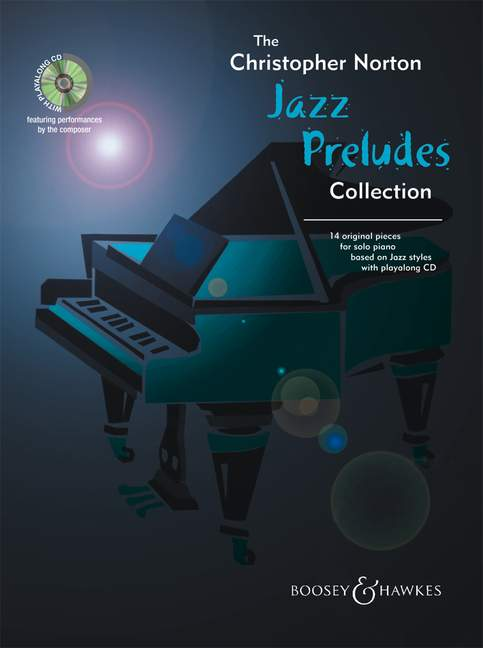 NORTON CHRISTOPHER - JAZZ PRELUDES COLLECTION + CD - PIANO