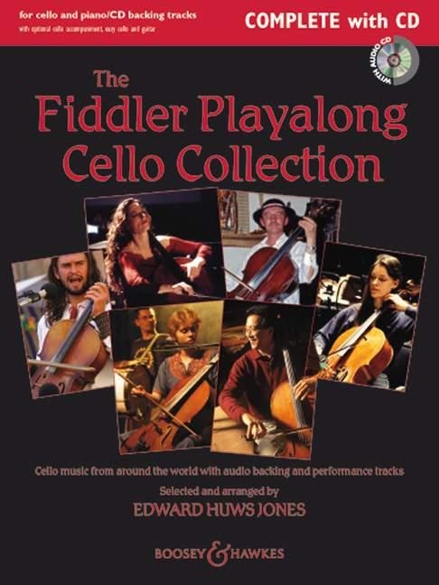 The Fiddler Playalong Cello Collection + Cd - Cello  And Piano, Guitar Ad Lib.