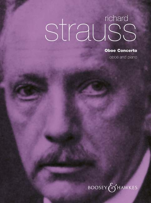 STRAUSS R. - CONCERTO FOR OBOE AND SMALL ORCHESTRA - OBOE AND PIANO
