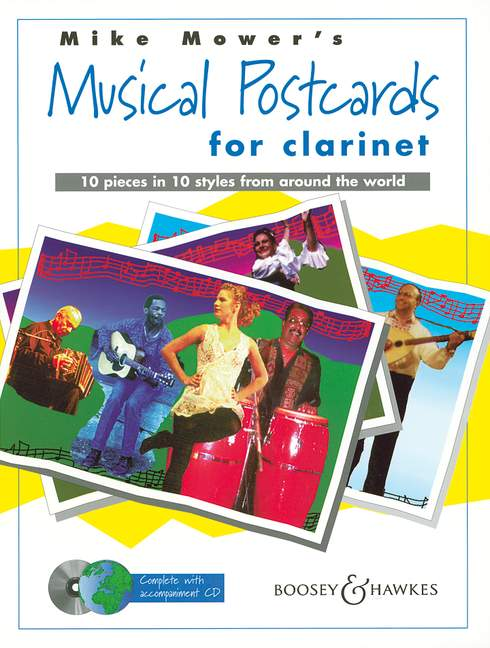 MOWER MIKE - MUSICAL POSTCARDS + CD - CLARINET