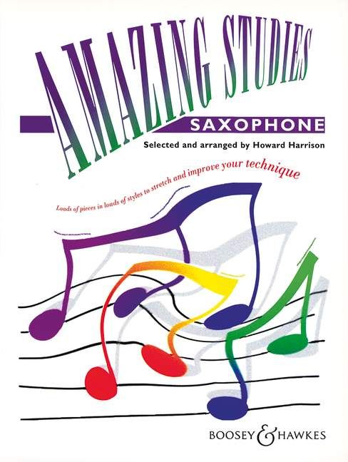 Boosey hawkes harrison amazing studies saxophone