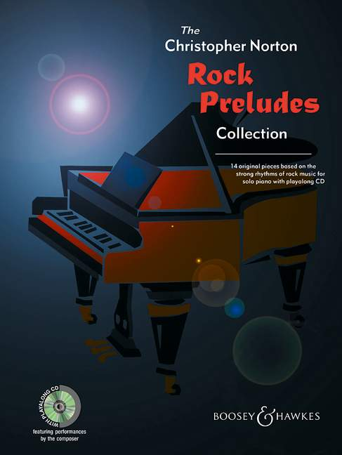 NORTON CHRISTOPHER - ROCK PRELUDES COLLECTION + CD - PIANO